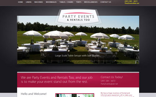 Party Events & Rentals